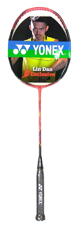 Yonex Voltric 7 Lin Dan G4 Badminton Racquet (Red)