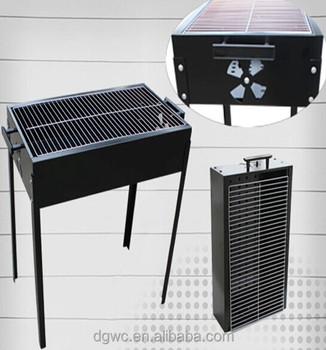 Barbecue au charbon de boisgrill de table avec ventilation