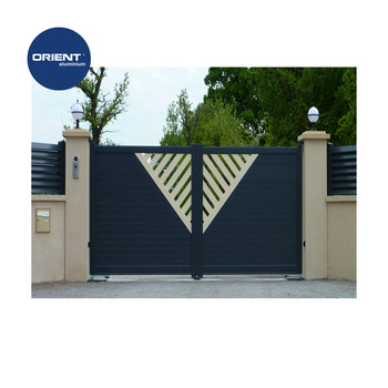 Aluminium Swing Contemporary Gate House Grill Designs Small Iron