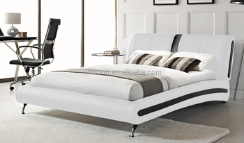 european bed frame double bed design pu leather bed 1836 - European Bed Frame
