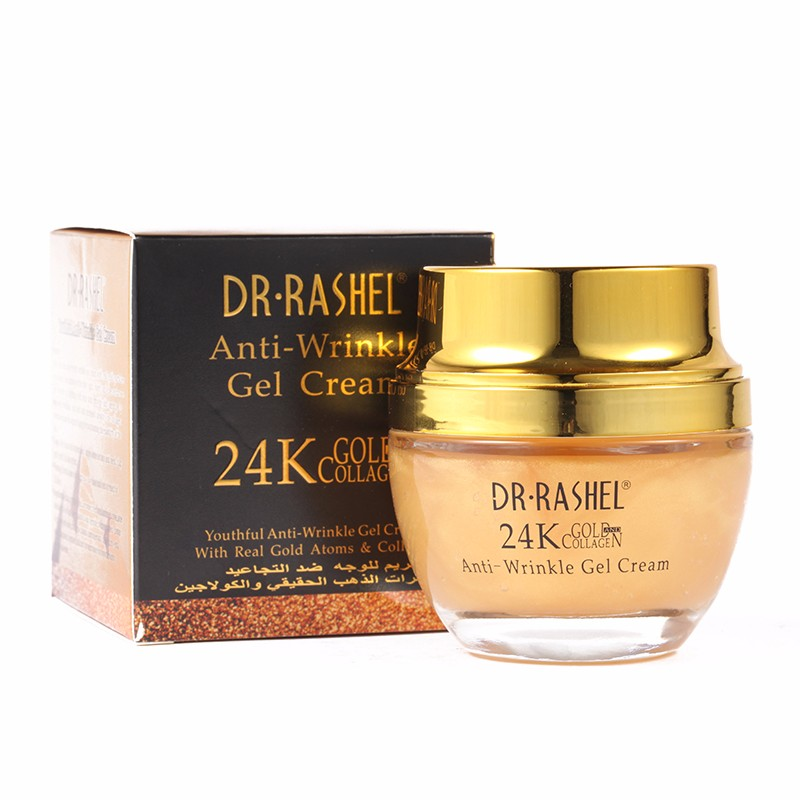 DR RASHEL 24k Real gold Collagen day night creams face treatment anti wrinkle whitening cream skin care  gel