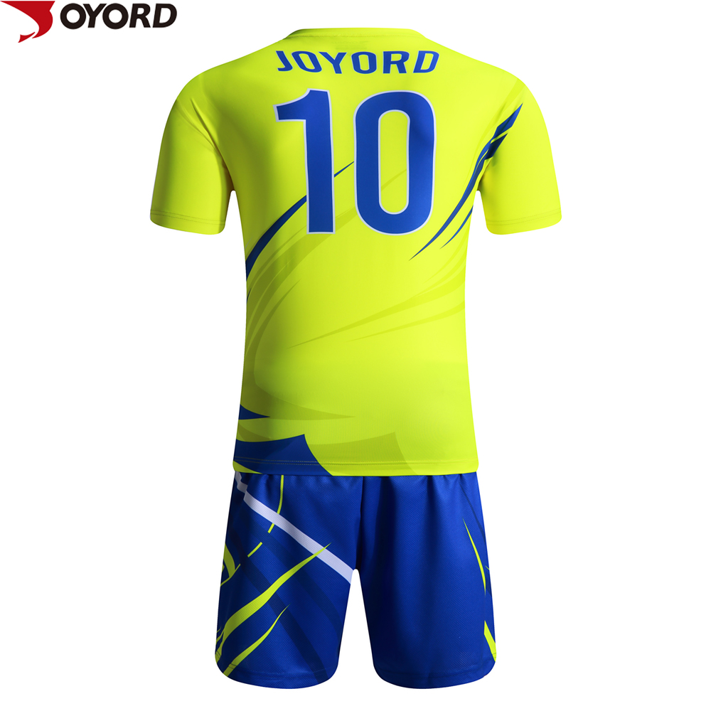 2015 the latest polyester New fashion wholesale Sublimation oem fabric sports jersey soccer shirt