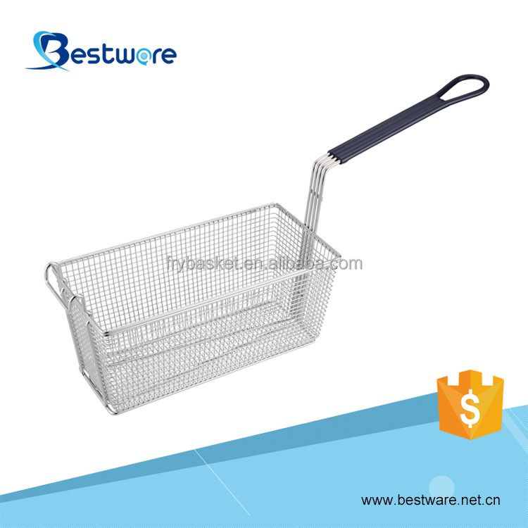 Regular Commercial Iron Wire Frying Basket for Deep Fat Fryer