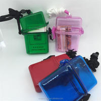New Outdoor Storage Box Case beach safe box waterproof Key Money phone box Plastic Waterproof Container