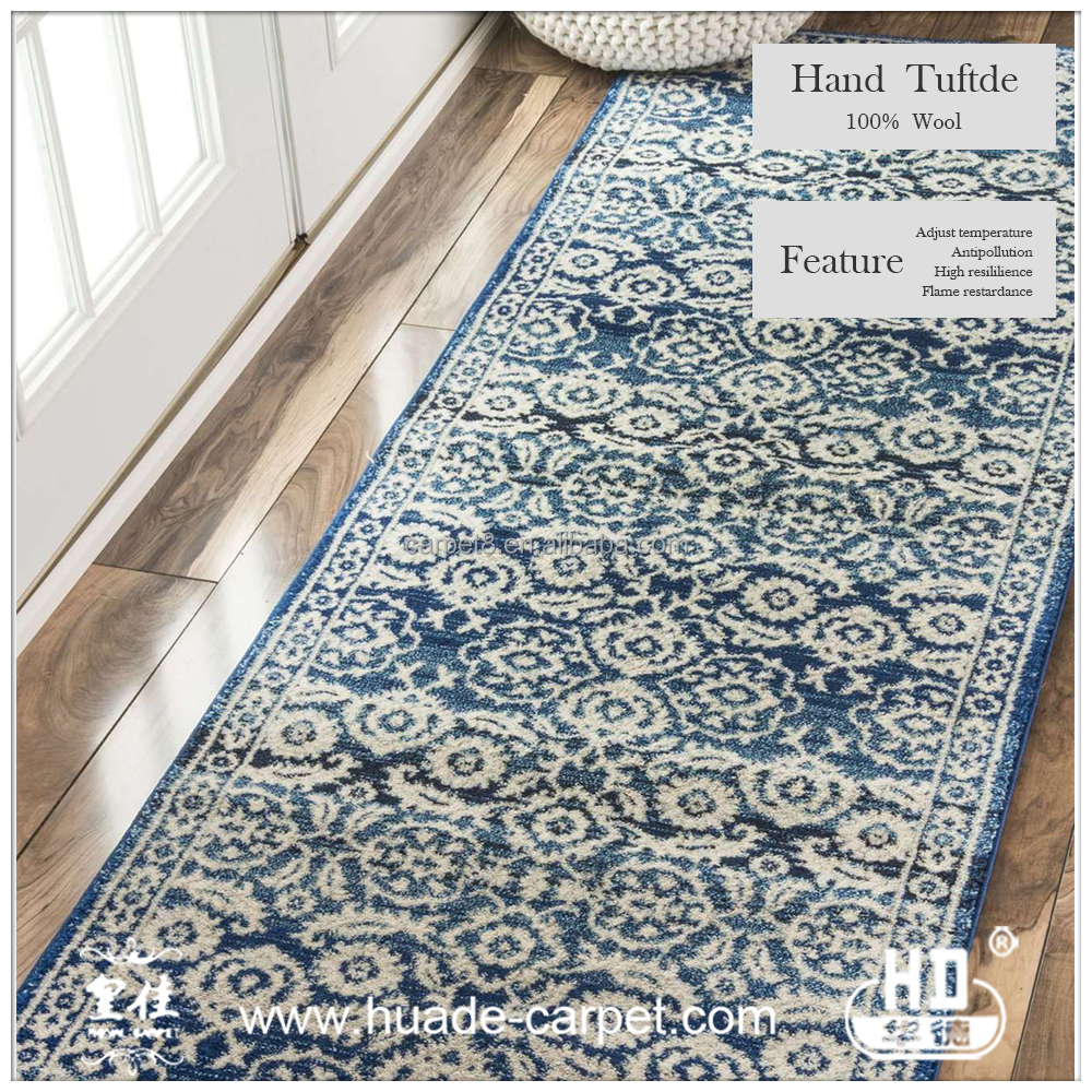 Floral pattern carpet tiles,handmade wool flooring tiles,wall to wall carpet
