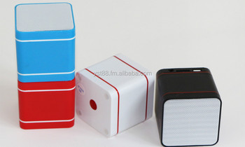 2015 portable wireless speaker, rubik's cube bluetooth speaker Y33