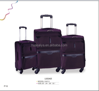 2016 New Product 4 Wheels Trolley Luggage and Compass LuggageTrolley Bag
