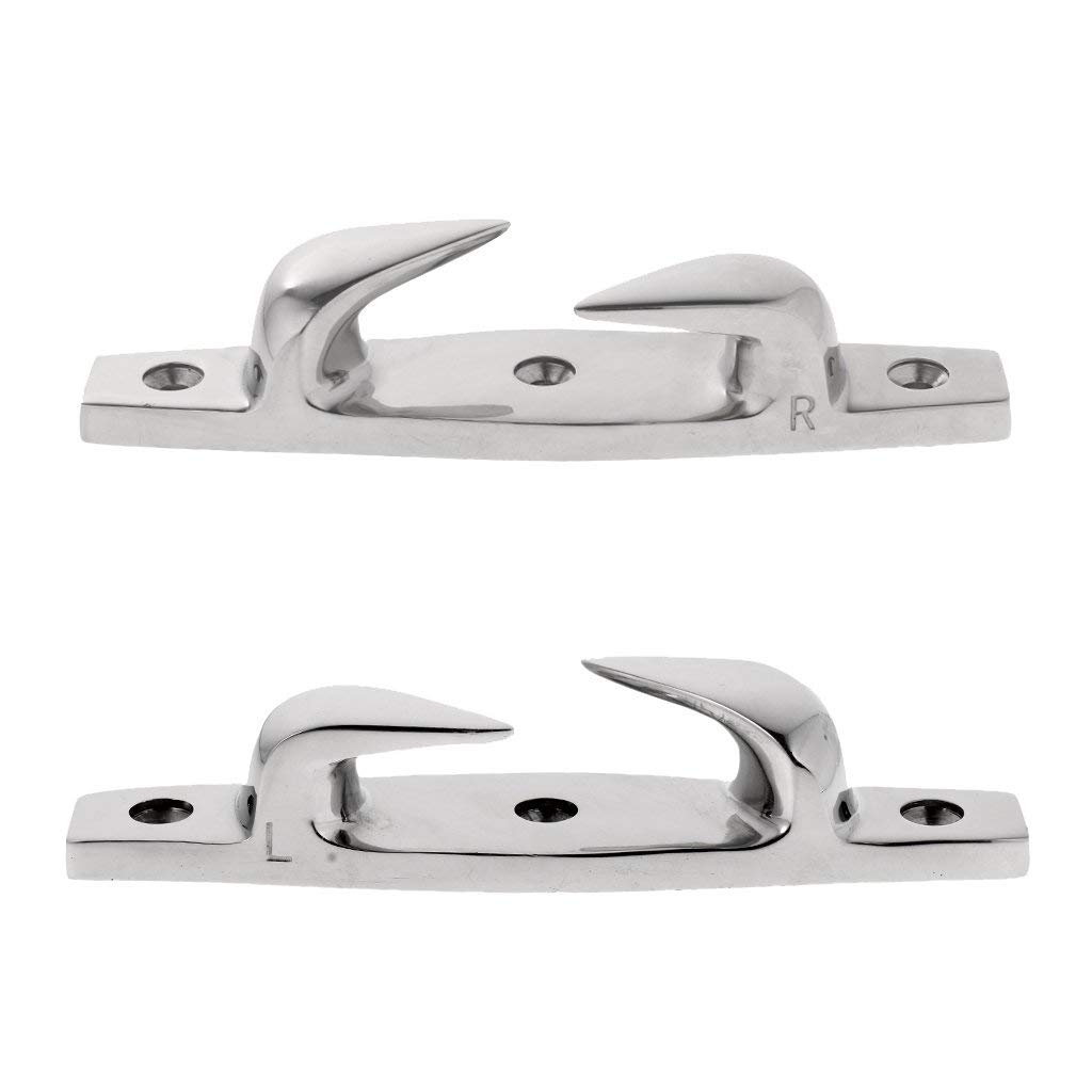 PERKO Chrome Plated Skene Bow Chocks 1223DPCHR NEW