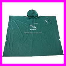 PVC emergency plastic adult hooded blankets rain poncho