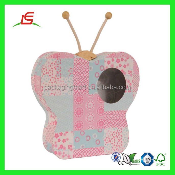 Q924 oem cute cheap cardboard money box different shaped for How to decorate a money box