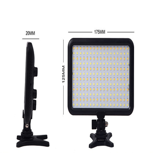 Photographic Equipment TTV-204 LED Camera Video Light Lamp Panel 3200K~5500K Dimmable for Canon Nikon Pentax DSLR Camera
