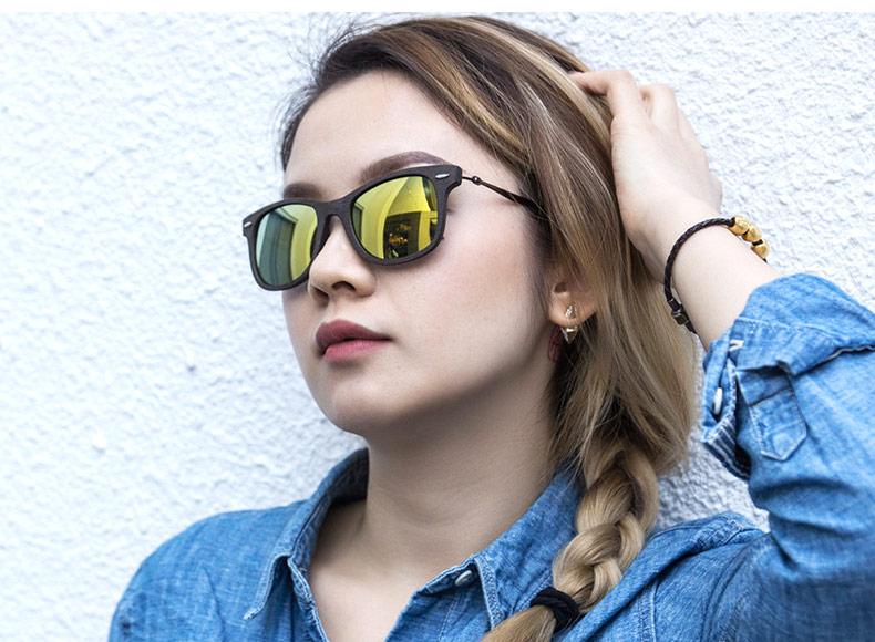 4302aca4415 BAVIRON 2017 New Men Sun Glasses Wood Retro Classic Sunglasses Women  Polarized Lens Anti-UV400 Wooden Sunglasses Fashion 4210 ...
