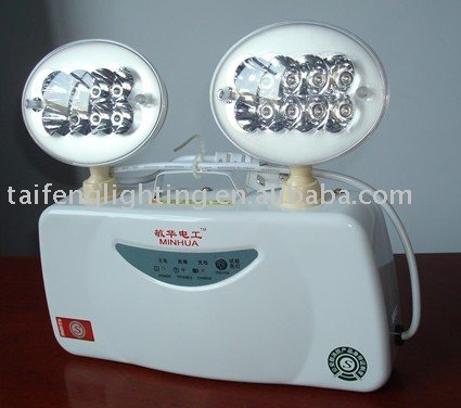 rechargeable led emergency light/two head led emergency lamp