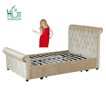 Free Sample Beds Kids Upholstered Tufted Sleigh Bed Light Oak Nursery Furniture Land Olx Ottawa Queen Headboard On
