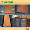 Slot perforated acoustic panel for sound absorption in office, restaurant, big space