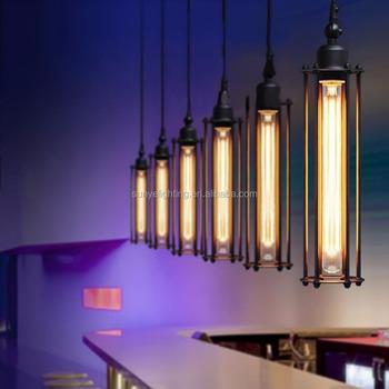 industrial bar lighting. Retro Vintage Flute Pendant Lamp Kitchen Industrial Bar Hanging Ceiling Light Lighting E