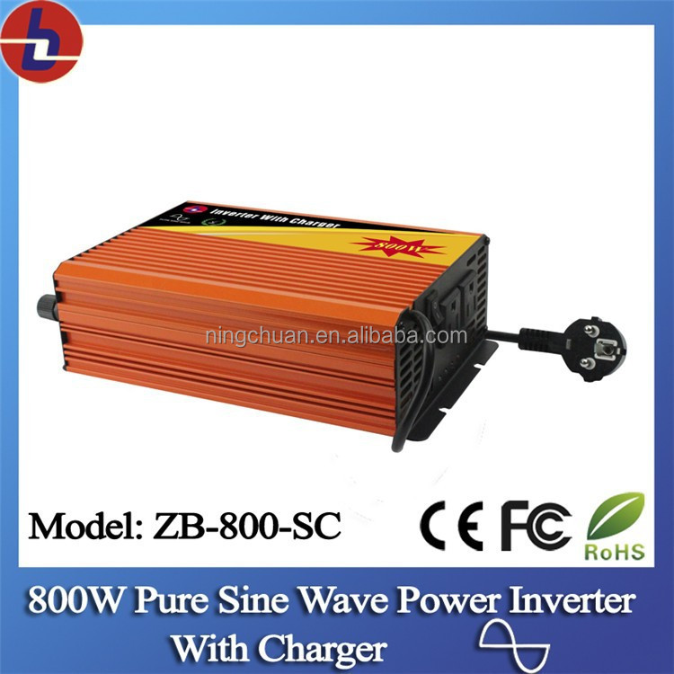 800W DC to AC Pure Sine Wave Power Inverter with Charger