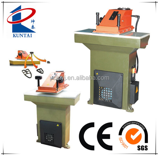 Footwear Hydraulic Swing Arm Cutting Clicking Machine