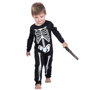 Halloween Skeleton Costume Kids.Fashionable Halloween Children Little Boys Toddler Skeleton Black Costumes Kids Cosplay Party Costumes Buy Children Skeleton Costumes Skeleton