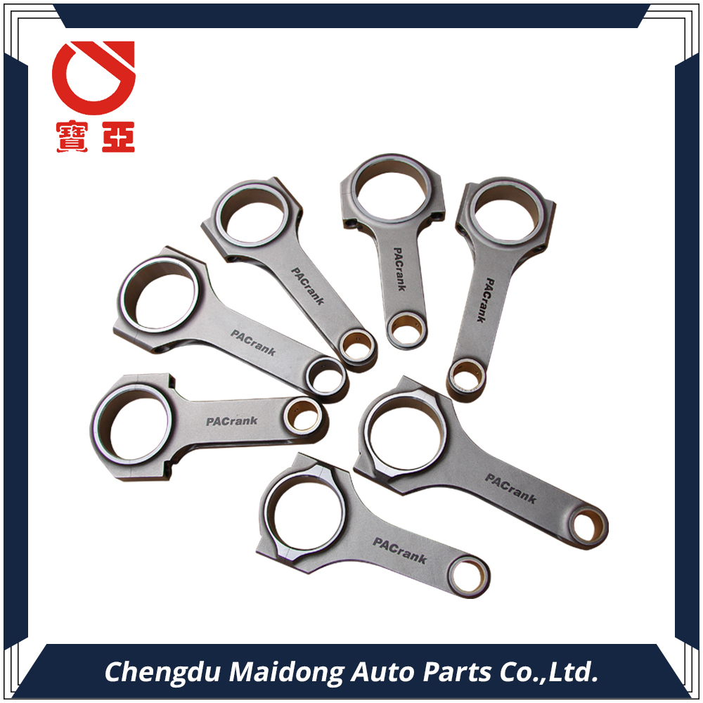 """I Beam Race 5.400/"""" 2.123/"""" .927/"""" Bronze Bush 4340 Connecting Rods fits Ford 302"""