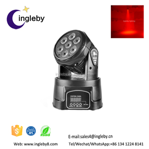 RGBW strong mini LED moving head light