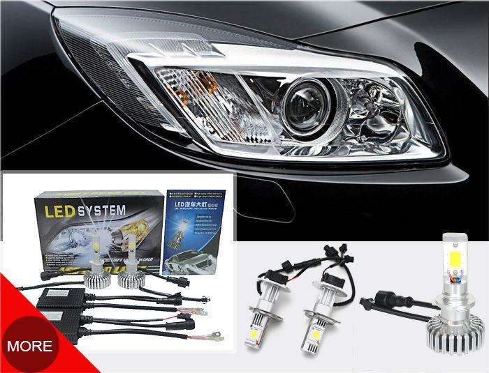 Most Brightness 2500lm Led Car Headlight Kit H4,H7,H8,H9,H11 Car ...
