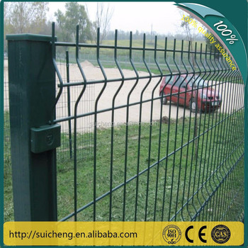 guangzhou factory cheap mesh security fence panelscheap fencing materials