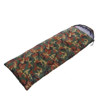 Military Camouflage Envelope Type Sleeping Bag, Outdoor Camping Leisure Sleeping Bag