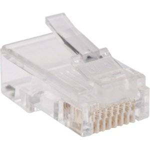 "Tripp Lite, Network Connector Rj-45 (M) Cat 5E Stranded, Solid (Pack Of 100 ) ""Product Category: Supplies & Accessories/Network Cabling Accessories"""