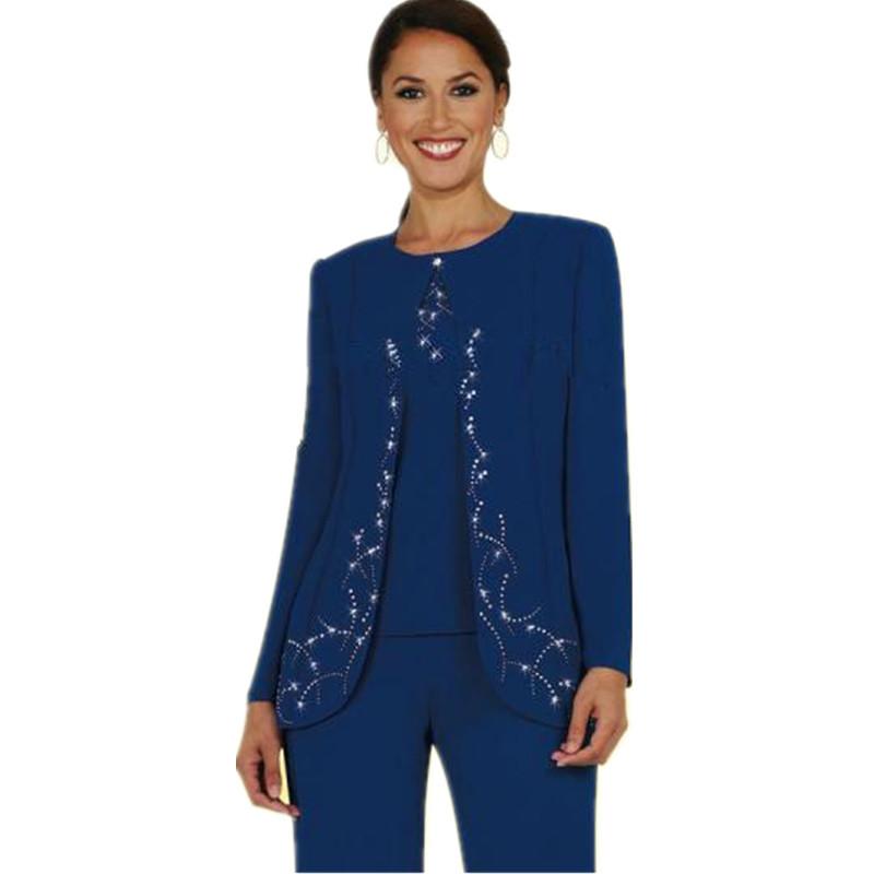 Buy Elegant Chiffon Mother of the Bride Pant Suits Plus Size 2015 ...
