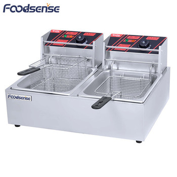 Manufactory Supply Best Compact Fryer,Rival Fryer,Cheap Double Fryers