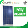 Bluesun China factory A-grade poly 280w solar modules pv panel