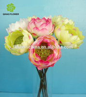 Wholesale Artificial Home Decoration Single Lotus Flower