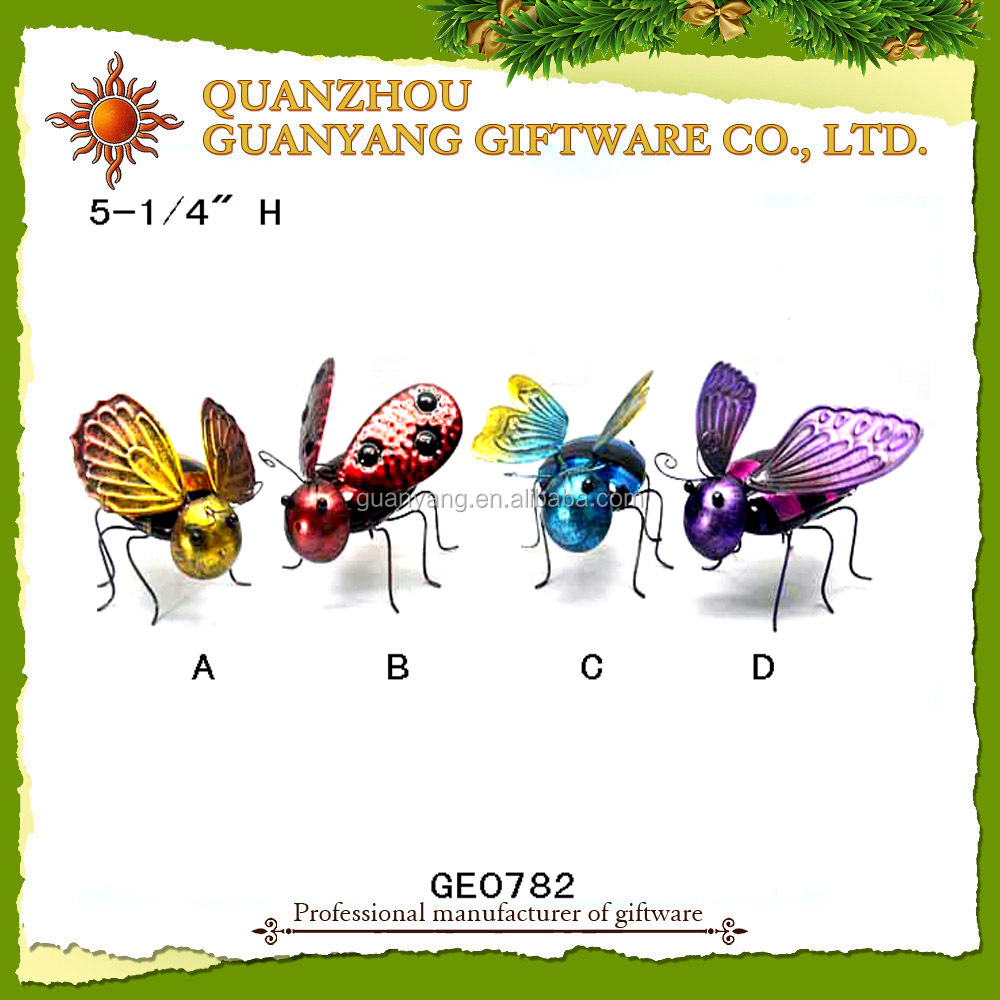 Metal insect 3D Metal Model decoration gifts