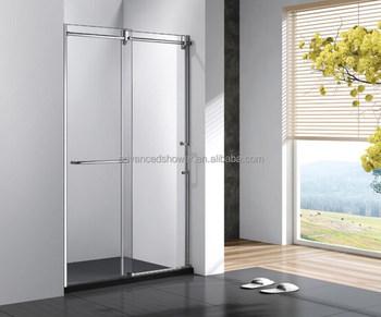 Modern Badkamer Interieur : Moderne interieur frosted aluminium sliding wc glas badkamer deur