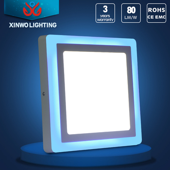 Colour Changing Led Panel Light Double Color Led Ceiling Light ...