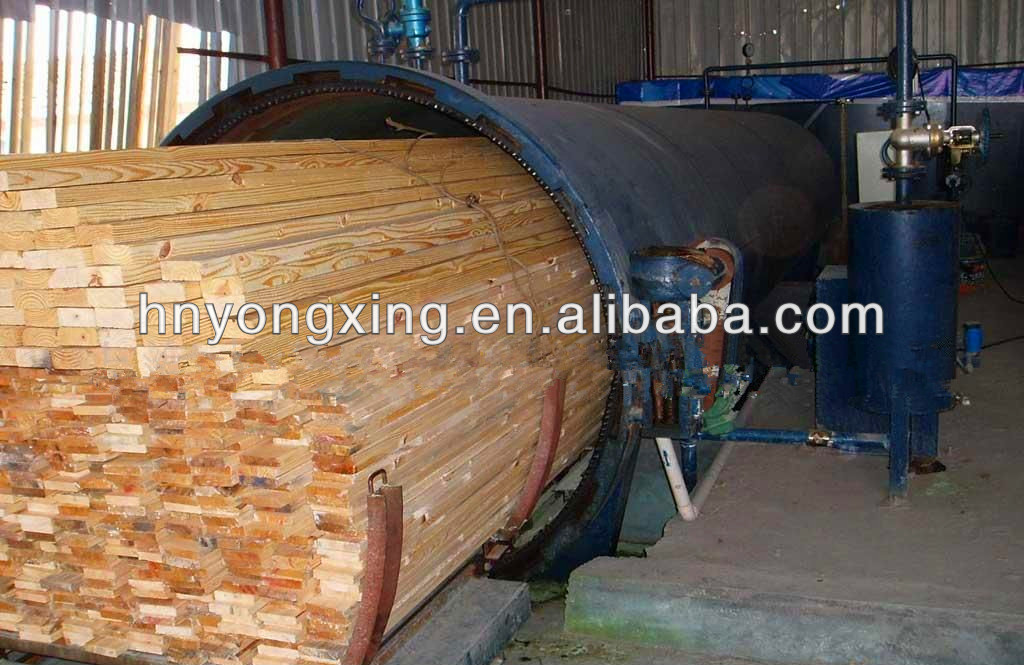 National Class A High Quality Pressure Wood Treatment Equipment