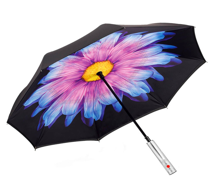 unique fold Led umbrella OEM/ODM big flower Led umbrella kids
