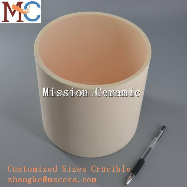 Customized Al2O3 Ceramic Crucible for Industry Melting