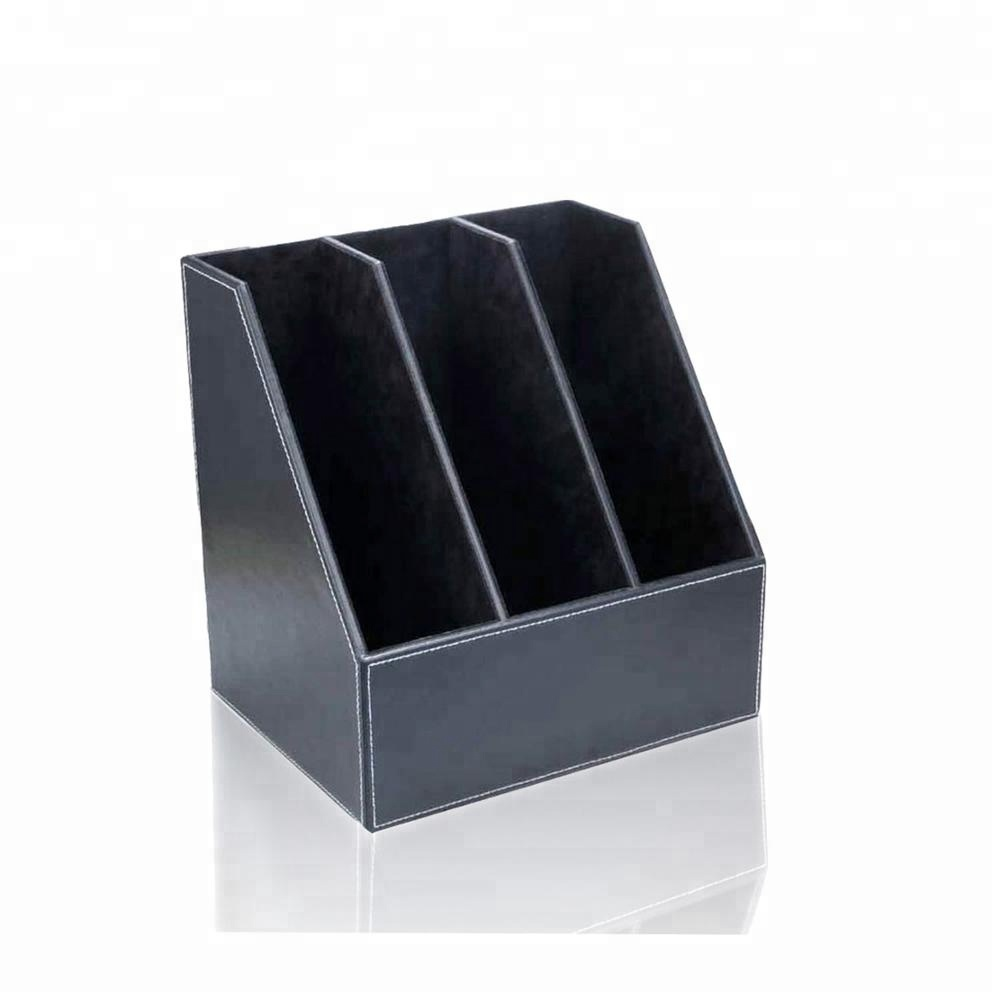 Office Stationery Wholesale Faux Leather  File Holder for School and Office