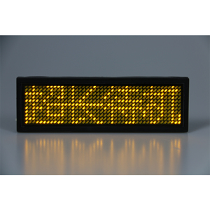 Led Display Badge, Led Display Badge Suppliers and Manufacturers at