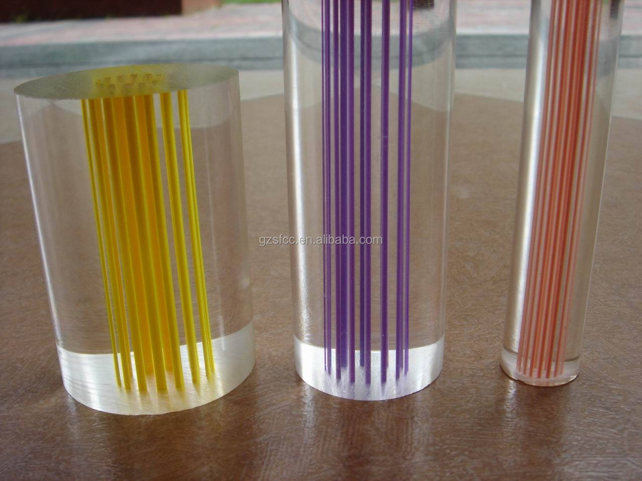 Acrylic curtain rod - Transparent Extruded Acrylic Rod Acrylic Curtain Rods