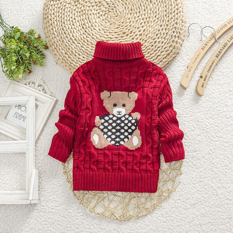 4a078ac65 Girls Sweaters 2018 Cartoon Baby Girl Sweater Jumper Autumn Winter ...