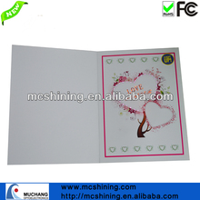 Custom Music Sound Chip Talking Birthday Paper Card