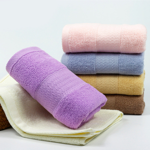 Factory direct wholesale high quality luxury colorful 100% cotton face towels for home