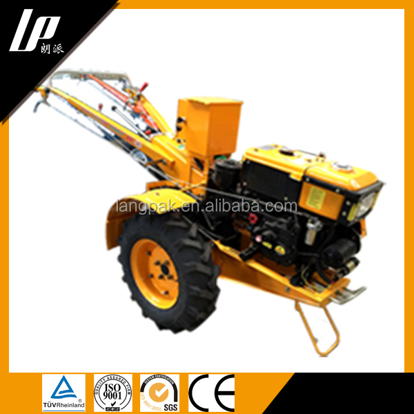 Good China Supplier Diesel Two Wheel Plough Tractor For Sale ...