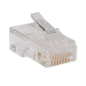 "Tripp Lite N030-100 - Network Connector - Rj-45 (M) - Cat 5E - Stranded, Solid (Pack Of 100 ) ""Product Type: Supplies & Accessories/Network Cabling Accessories"""