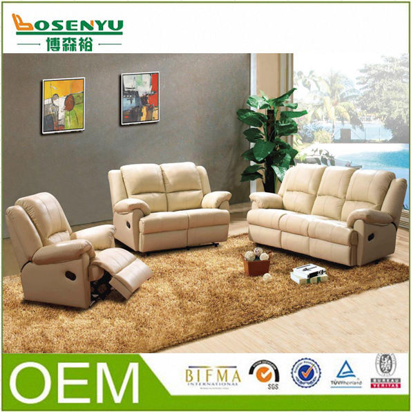 Rozel Leather Recliner Sofa In Malaysia