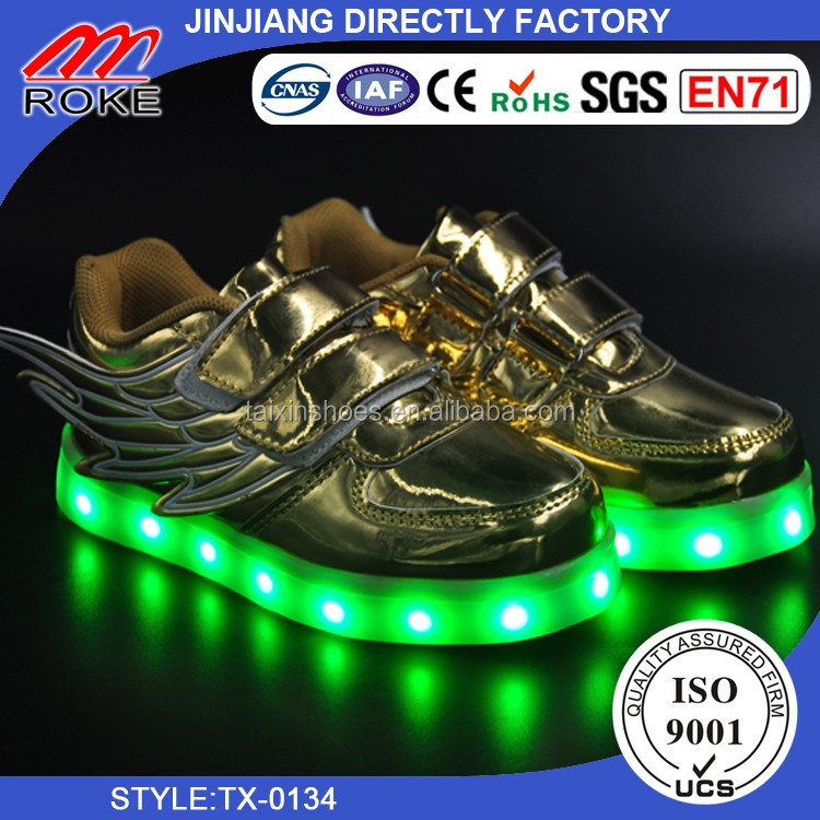 Children Kids Boys Girls LED Light Up Sneakers Fashion Casual sport shoes