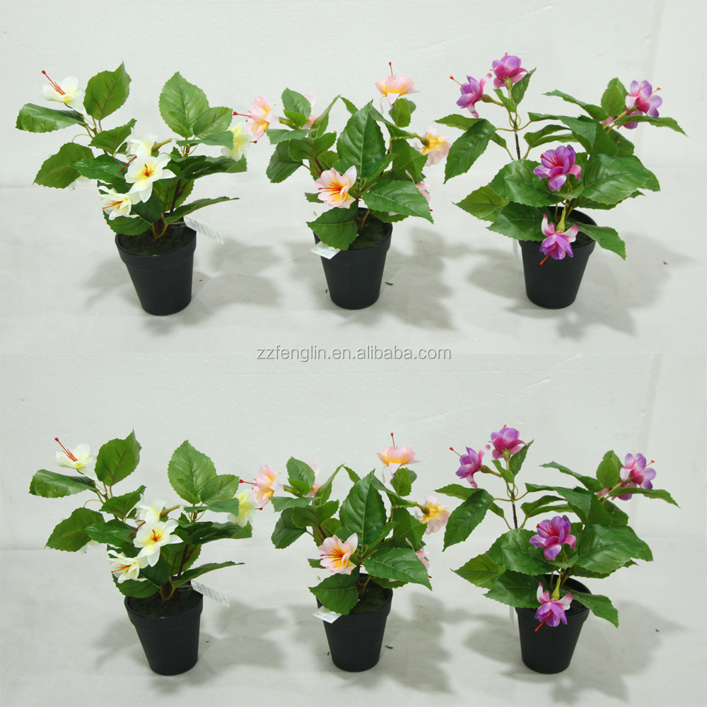 Cheap wholesale artificial flowers in decorative pot purple cheap wholesale artificial flowers in decorative pot purple artificial impatiens flower for table decoration izmirmasajfo Choice Image